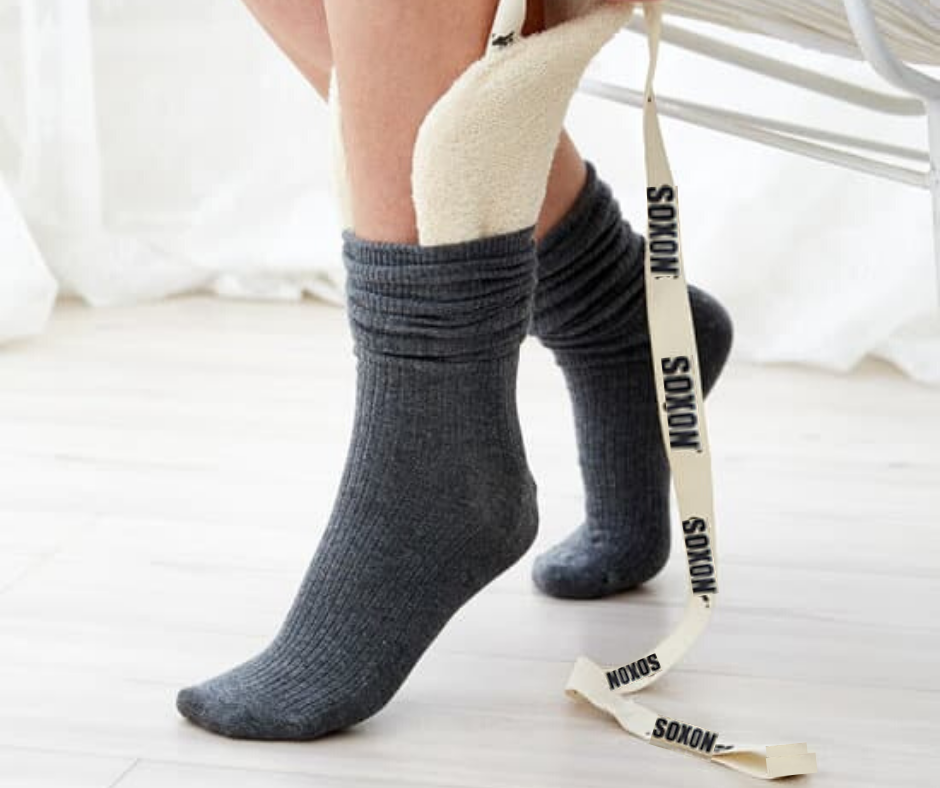 Helping Hand Soxon sock applicator, Dressing aid that helps you put your socks on without bending or overstretching