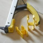 Helping Hand Stick clips for Classic Reacher range and Shoe helper. Handy device to attach your Reacher onto your wheelchair, walking frame or walking stick.